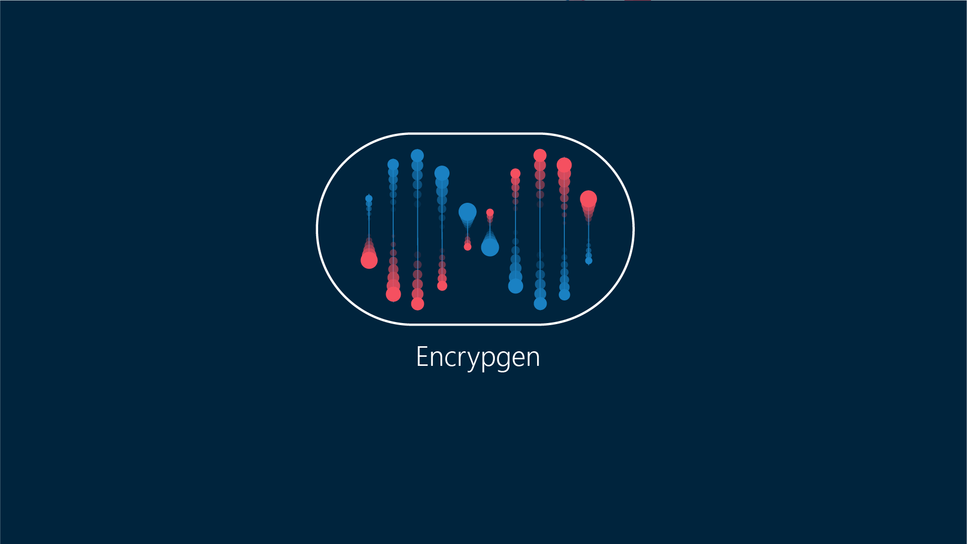 illustration for video motion graphics - Encrypgen